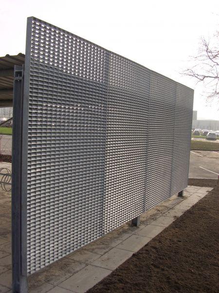 Et bilde av vestas HQ skejby ventilasjonsgitter