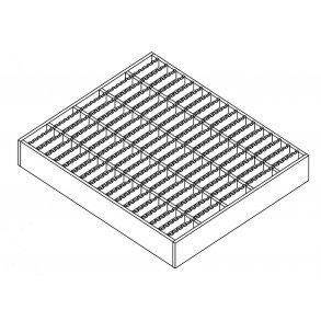XP230-33/11-3 - 30x2 mm bærerib Standard Skridsikker