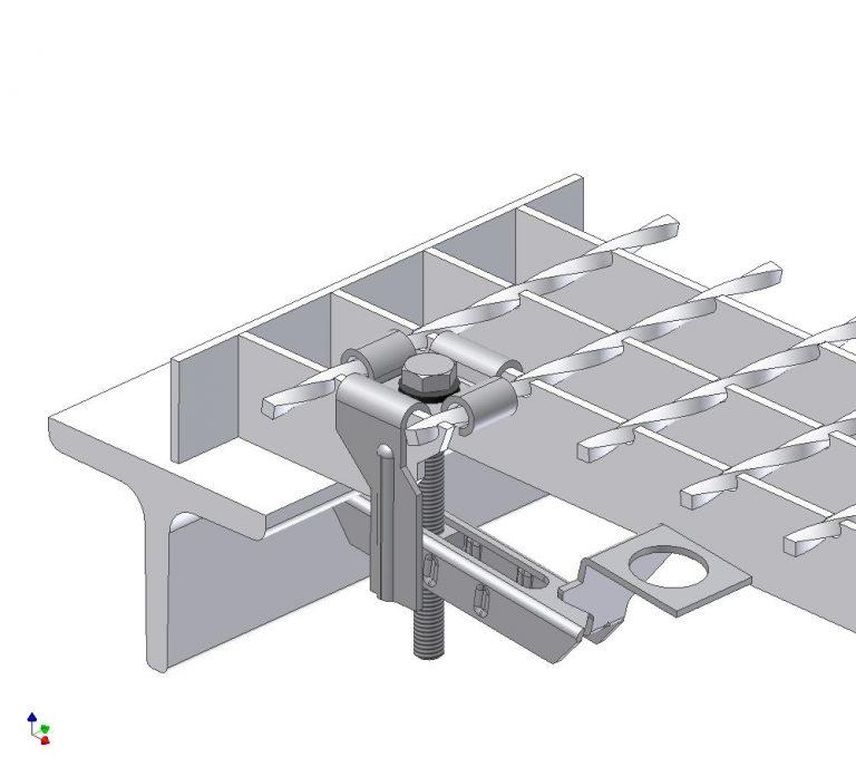 Et billede af fastgørelsesmateriale til svejsepresriste